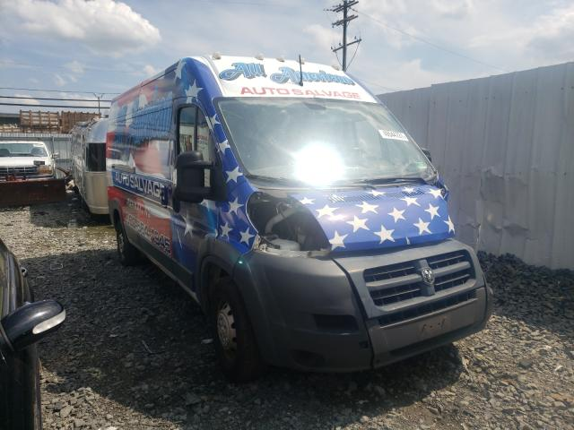 Salvage cars for sale from Copart Windsor, NJ: 2015 Dodge RAM Promaster