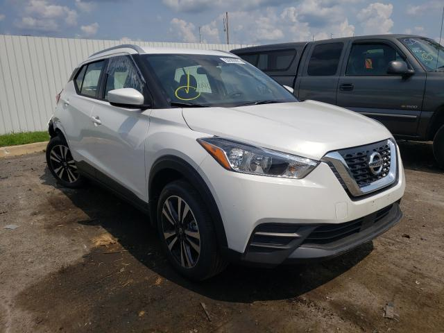 Salvage cars for sale from Copart Glassboro, NJ: 2020 Nissan Kicks SV