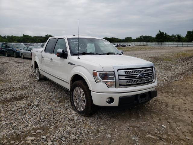 Salvage cars for sale at Wichita, KS auction: 2013 Ford F150 Super