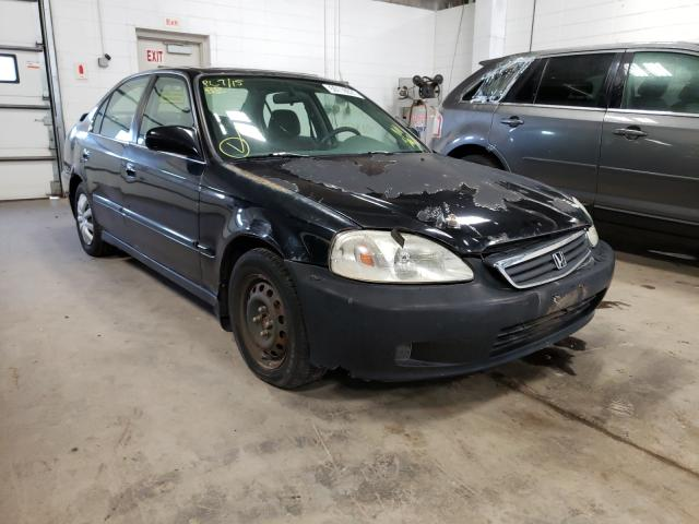 Salvage cars for sale from Copart Blaine, MN: 2000 Honda Civic EX