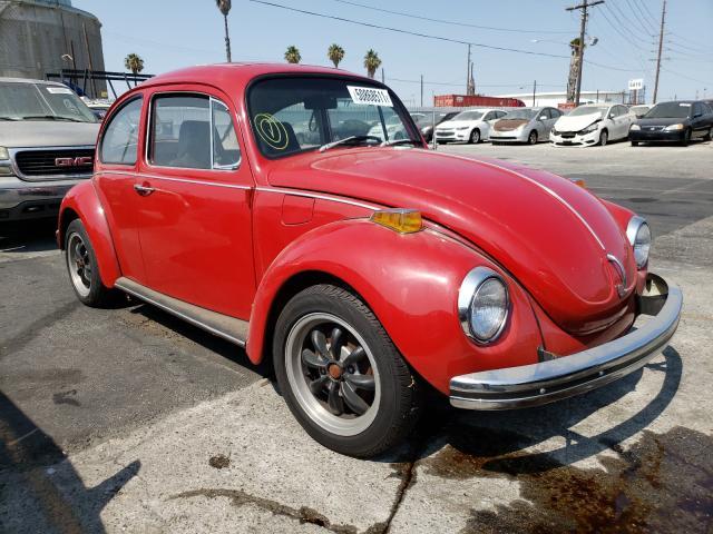 Volkswagen salvage cars for sale: 1971 Volkswagen Beetle