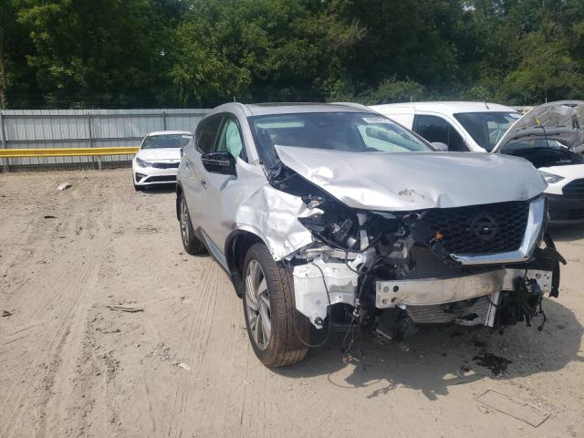 Vehiculos salvage en venta de Copart Glassboro, NJ: 2020 Nissan Murano SL