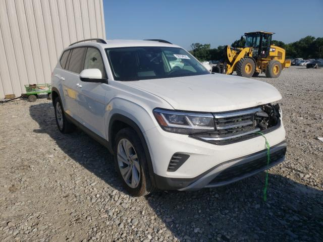 Salvage cars for sale from Copart Byron, GA: 2021 Volkswagen Atlas SE
