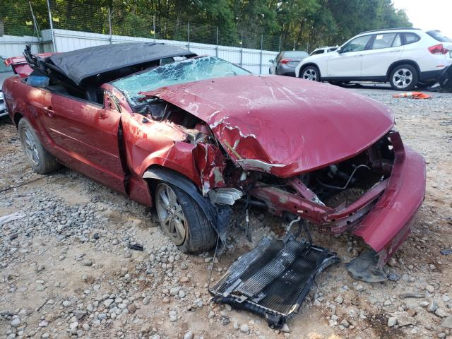 Salvage cars for sale from Copart Austell, GA: 2006 Ford Mustang