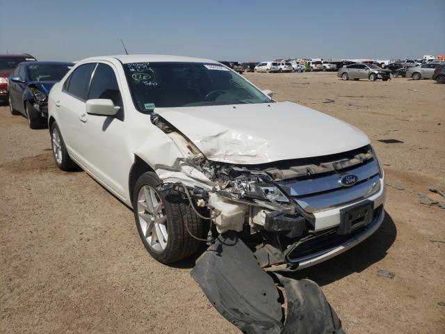 Salvage cars for sale from Copart Amarillo, TX: 2012 Ford Fusion SEL