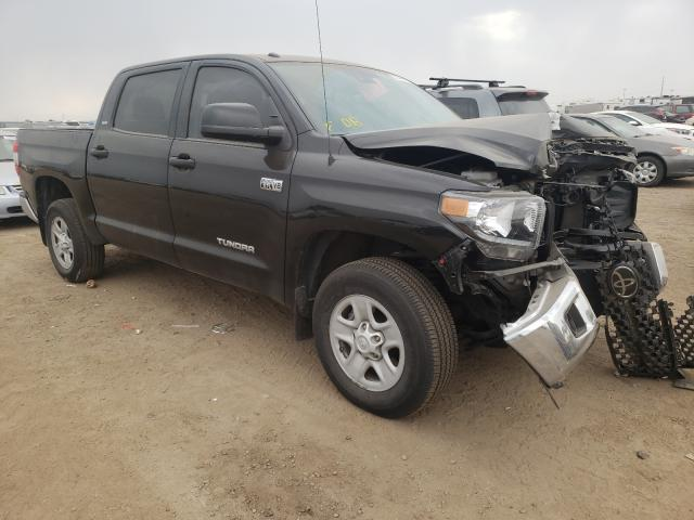 Salvage cars for sale from Copart Brighton, CO: 2019 Toyota Tundra CRE