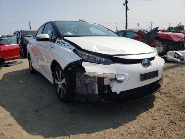 Salvage cars for sale from Copart Los Angeles, CA: 2018 Toyota Mirai