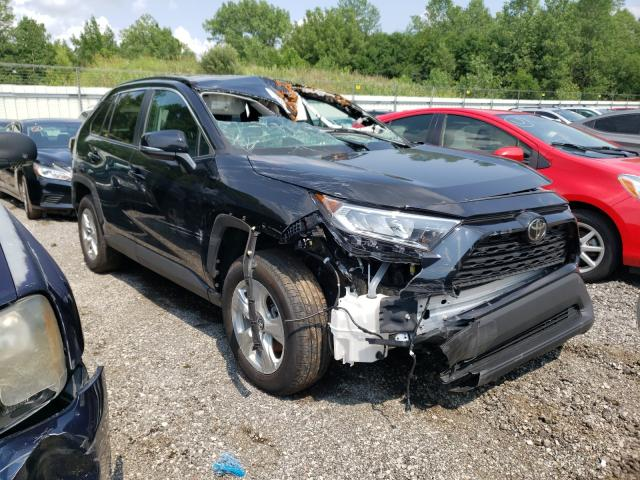 Salvage cars for sale from Copart Louisville, KY: 2021 Toyota Rav4 XLE
