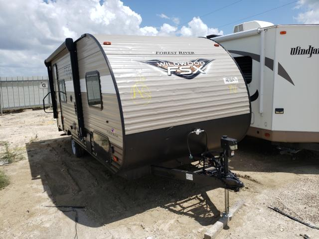 Salvage cars for sale from Copart Temple, TX: 2018 Wildcat Wildwood