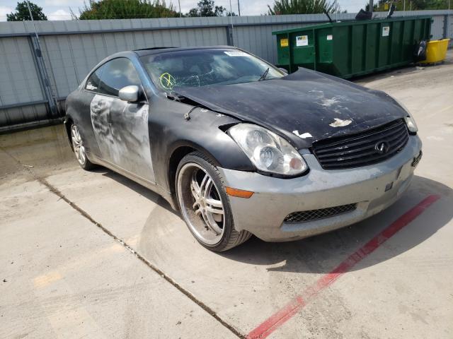 Vehiculos salvage en venta de Copart Wilmer, TX: 2005 Infiniti G35