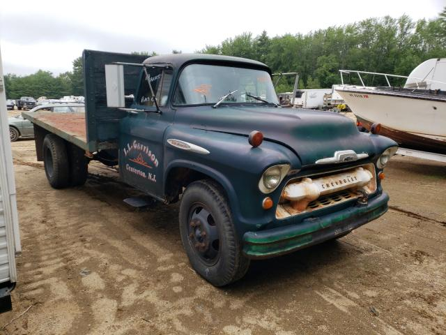 Salvage cars for sale from Copart Lyman, ME: 1957 Chevrolet 6500