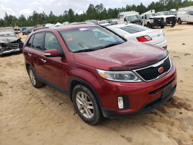 Salvage cars for sale from Copart Gaston, SC: 2014 KIA Sorento LX