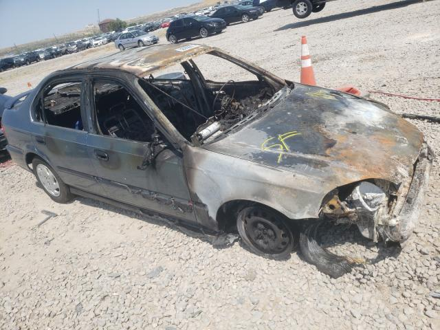 Salvage cars for sale at Magna, UT auction: 1997 Honda Civic LX