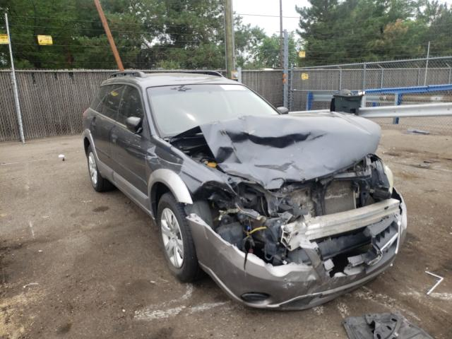 Salvage cars for sale from Copart Denver, CO: 2009 Subaru Outback