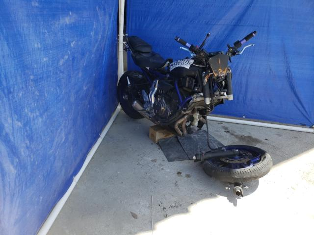 Salvage cars for sale from Copart Punta Gorda, FL: 2015 Yamaha FZ07