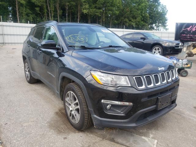 Vehiculos salvage en venta de Copart Dunn, NC: 2018 Jeep Compass LA
