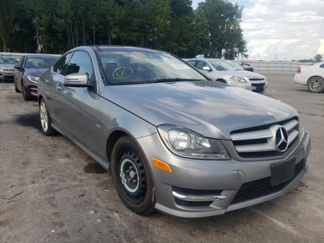 Salvage cars for sale from Copart Dunn, NC: 2012 Mercedes-Benz C 250
