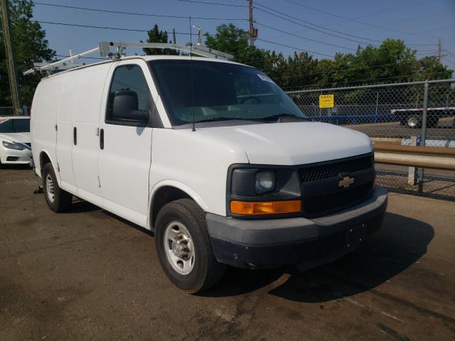 Salvage cars for sale from Copart Denver, CO: 2013 Chevrolet Express G2