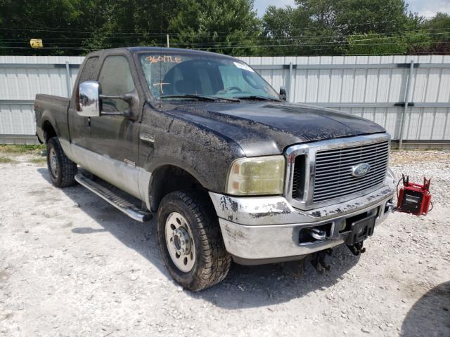 Vehiculos salvage en venta de Copart Rogersville, MO: 2007 Ford F250 Super