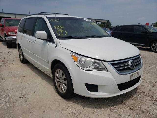 Salvage cars for sale from Copart Kansas City, KS: 2013 Volkswagen Routan SE