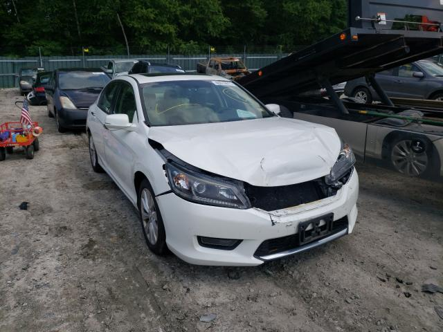 Salvage cars for sale from Copart Candia, NH: 2014 Honda Accord EX