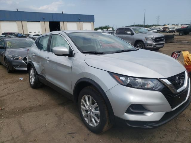 Salvage cars for sale from Copart Woodhaven, MI: 2021 Nissan Rogue Sport