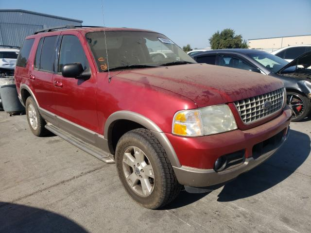 Ford Explorer salvage cars for sale: 2003 Ford Explorer