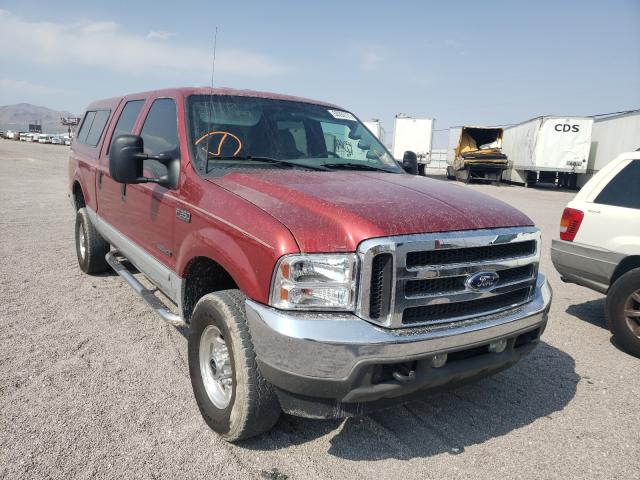Salvage cars for sale from Copart Las Vegas, NV: 2002 Ford F350 SRW S