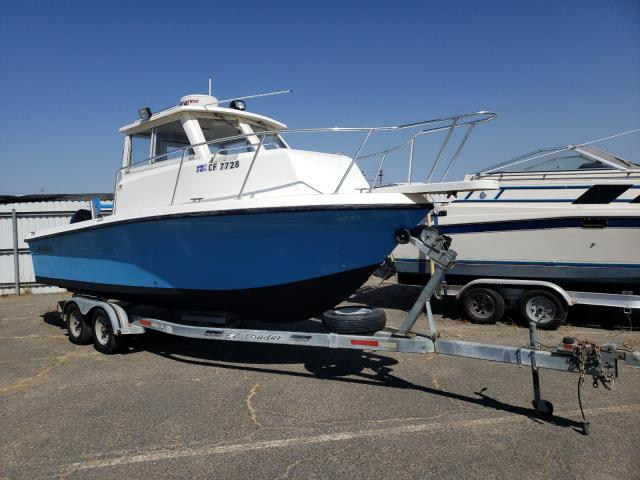Salvage cars for sale from Copart Sacramento, CA: 2009 Angel Boat