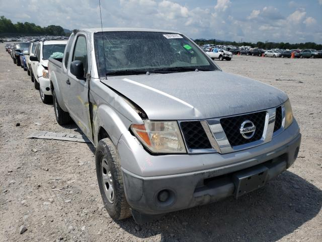 Salvage cars for sale from Copart Madisonville, TN: 2006 Nissan Frontier K