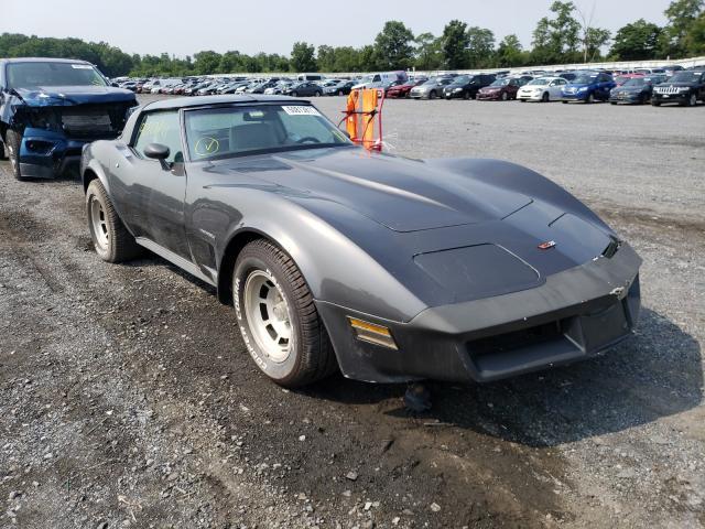 Chevrolet Corvette salvage cars for sale: 1982 Chevrolet Corvette