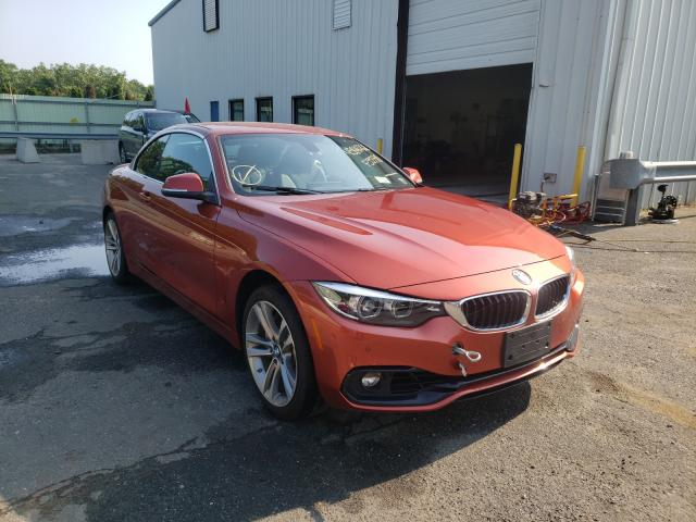 Salvage cars for sale at Brookhaven, NY auction: 2019 BMW 440XI