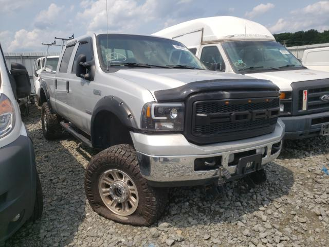 Salvage cars for sale at Windsor, NJ auction: 2005 Ford F250 Super