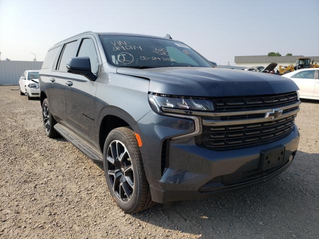Vehiculos salvage en venta de Copart Bismarck, ND: 2021 Chevrolet Suburban K