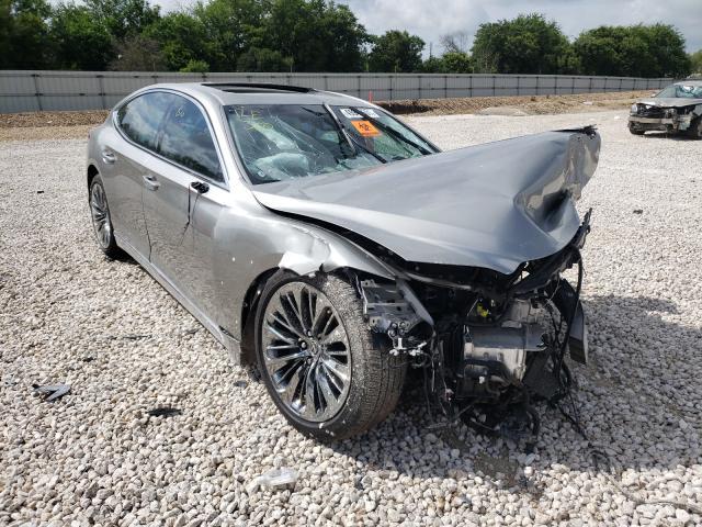 Lexus LS 500 Base salvage cars for sale: 2020 Lexus LS 500 Base