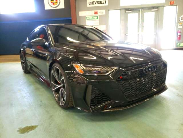 Salvage cars for sale from Copart East Granby, CT: 2021 Audi RS7