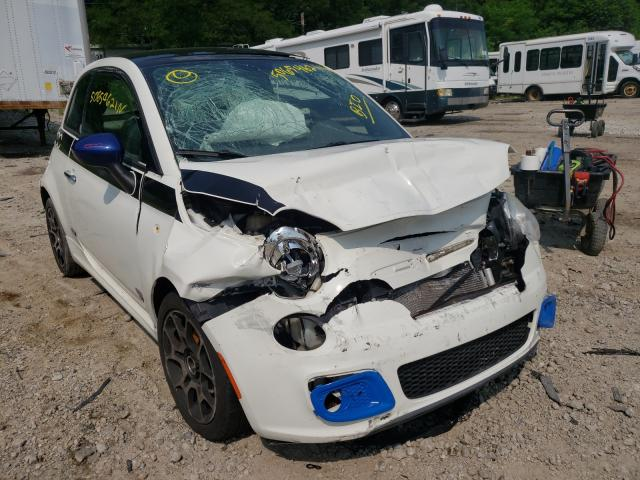 Salvage 2012 FIAT 500 - Small image. Lot 50654621