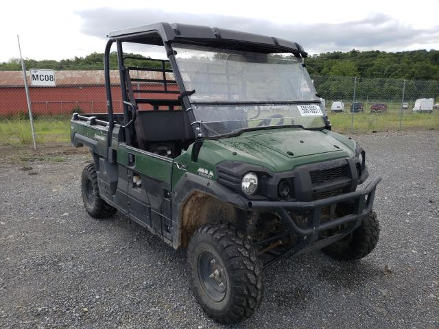 Salvage cars for sale from Copart Chambersburg, PA: 2017 Kawasaki KAF820 A
