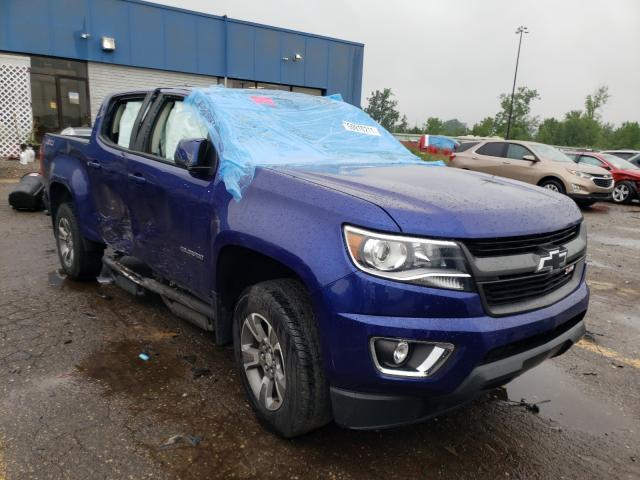 2017 Chevrolet Colorado Z en venta en Woodhaven, MI