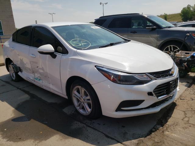 Chevrolet salvage cars for sale: 2017 Chevrolet Cruze LT