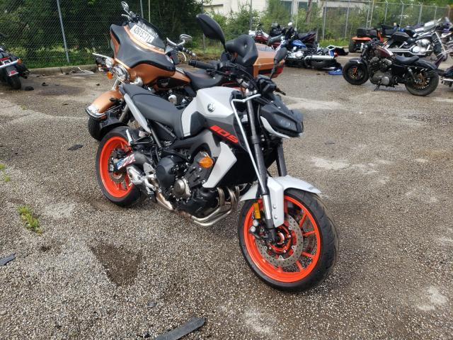 Salvage cars for sale from Copart Moraine, OH: 2020 Yamaha MT09