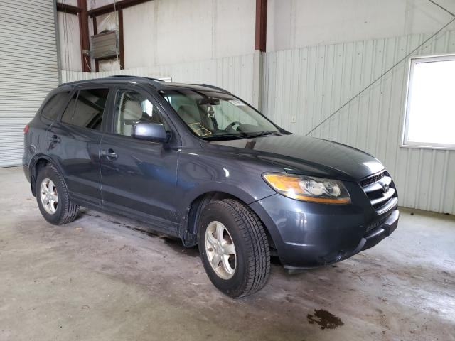Salvage cars for sale from Copart Lufkin, TX: 2008 Hyundai Santa FE G