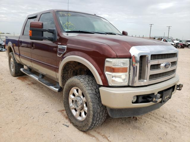 Salvage cars for sale from Copart Andrews, TX: 2008 Ford F250 Super