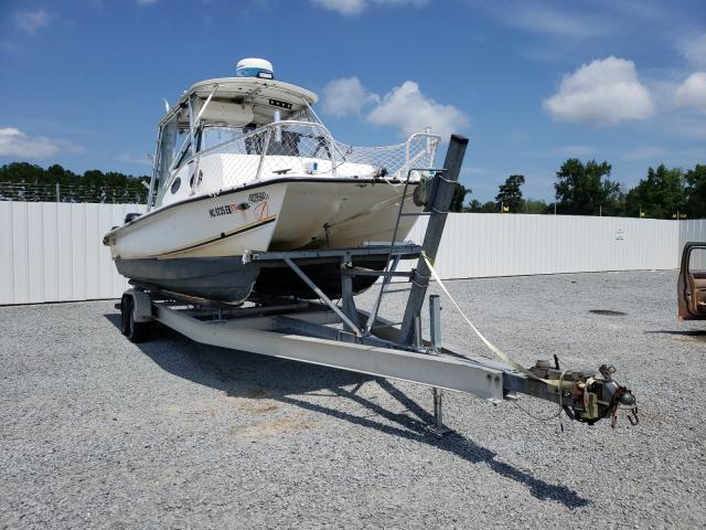 Salvage cars for sale from Copart Lumberton, NC: 2002 Twin Boat