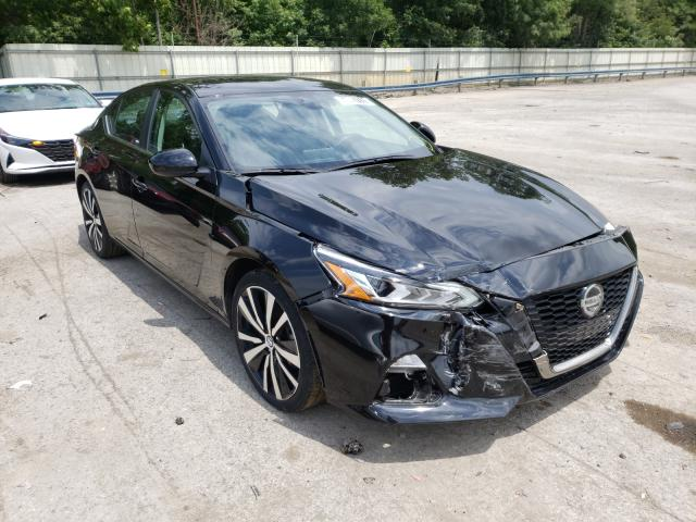 Salvage cars for sale from Copart Ellwood City, PA: 2020 Nissan Altima SR