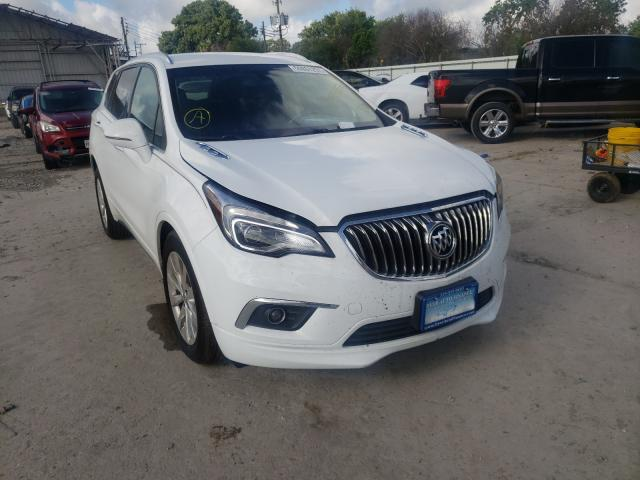Salvage cars for sale from Copart Corpus Christi, TX: 2017 Buick Envision E