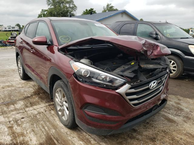 Salvage cars for sale from Copart Sikeston, MO: 2017 Hyundai Tucson SE