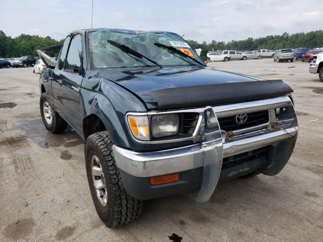 Salvage cars for sale from Copart Ellwood City, PA: 1997 Toyota Tacoma XTR