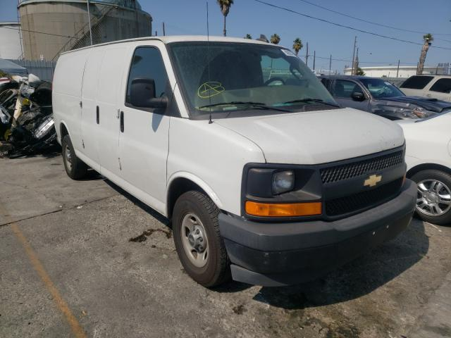 Salvage cars for sale from Copart Wilmington, CA: 2017 Chevrolet Express G2