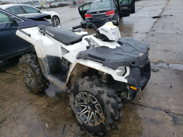 Salvage cars for sale from Copart Woodhaven, MI: 2015 Polaris Sportsman